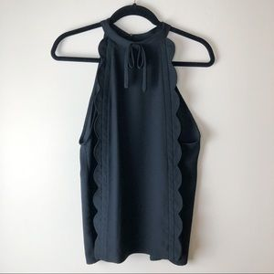 Victoria Beckham For Target Black Blouse XL